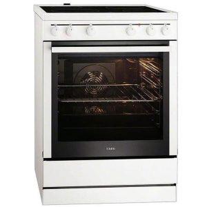 AEG Κουζίνα 74lt με Εστίες Κεραμικές 40006VS-MN