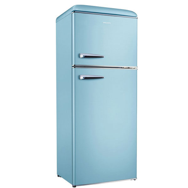 Robin RB-280 Δίπορτο Ψυγείο γαλάζιο